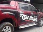 Bán Ford Ranger màu đỏ, đời 2014, đăng ký 2015, máy dầu, 2 cầu, số sàn