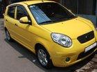 Bán ô tô Kia Morning AT sản xuất 2010, màu vàng số tự động