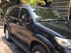 Cần bán lại xe Toyota Fortuner 2.5G đời 2012, màu đen số sàn, giá tốt