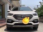Bán xe Hyundai Santa Fe 2017, màu trắng