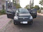 Cần bán Daewoo Gentra đời 2008, màu đen, xe nhập xe gia đình