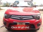Bán gấp Mitsubishi Triton năm 2013, màu đỏ, nhập khẩu