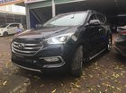 Cần bán Hyundai Santa Fe sản xuất năm 2017, màu đen, nhập khẩu nguyên chiếc