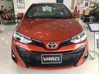 Bán ô tô Toyota Yaris năm 2019, màu đỏ, xe nhập số sàn