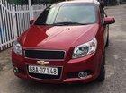 Cần bán Chevrolet Aveo AT đời 2017, màu đỏ, giá 350tr