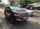 Cần bán lại xe Ford Everest Titanium 2.2L đời 2016, màu đỏ, xe nhập