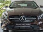 Bán xe Mercedes-Benz CLA200 2017, màu nâu, 18.000km, 2% thuế trước bạ