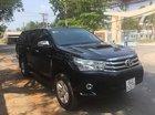 Bán xe Toyota Hilux G sản xuất 2016, màu đen, nhập khẩu
