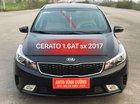 Bán ô tô Kia Cerato 1.6AT năm 2017, màu đen