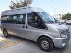 Cần bán xe Ford Transit 2.4 năm 2014, màu bạc