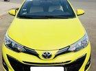 Cần bán Toyota Yaris G ĐK 10-2018, màu vàng cá tính