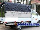 Bán xe tải Dongben, thùng mui bạc 810kg, giá ưu đãi: 166tr