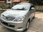 Bán Innova G đời 2010, màu bạc, giá 423tr, xe đẹp test hãng thoải mái, LH 0981662851