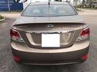 Bán Hyundai Accent 1.4 AT đời 2011, màu nâu, nhập khẩu, số tự động