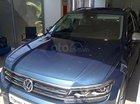 Bán xe Volkswagen Tiguan Allspace đời 2018, màu xanh dương (2B2B) nội thất màu đen