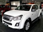 Bán ô tô Isuzu Dmax sản xuất 2018, màu trắng, nhập khẩu, giá chỉ 559 triệu