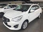 Cần bán Mitsubishi Attrage đời 2018, màu trắng, xe thuộc phân khúc Sedan, 5 chỗ ngồi, 4 cửa