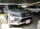 Cần bán Toyota Hilux G sản xuất 2015, màu bạc, nhập khẩu