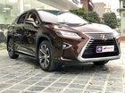 Bán Lexus RX 350 sản xuất 2017, màu nâu, nội thất nâu da bò rất hiếm