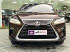 Bán Lexus RX350 sản xuất 2017, màu nâu, nội thất nâu da bò rất hiếm Mr Huân: 0981010161