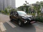 Bán Toyota Fortuner 2.7V 2016, đăng ký 2017 - Màu xe nâu cafe