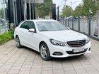 Bán xe Mercedes E200 trắng nội thất đen 2014 cũ chính hãng, trả trước 400 triệu nhận xe ngay