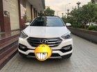 Cần bán Hyundai Santafe full dầu, màu trắng, đời 2016, xe đẹp giá tốt