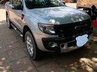 Cần bán Ford Ranger Wildtrak 3.2 đời 2014, màu bạc, nhập khẩu nguyên chiếc