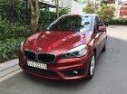 Xe BMW 2 Series 218i Gran Tourer 2016, màu đỏ, nhập khẩu nguyên chiếc