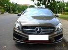 Mercedes A250 AMG màu nâu, sản xuất 2014, đăng ký 2015 biển Hà Nội
