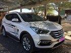 Cần bán Hyundai Santa Fe năm 2017, màu trắng như mới