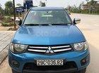 Cần bán xe Mitsubishi Triton GLX 4x2MT đời 2012, màu xanh lam, nhập khẩu