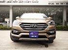 Bán Hyundai Santa Fe 2.4AT năm sản xuất 2017, màu nâu