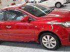 Cần bán gấp Toyota Yaris đời 2014, màu đỏ, nhập khẩu