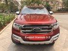 Bán Ford Everest sản xuất 2016, màu đỏ, nhập khẩu
