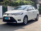 Bán Toyota Vios 1.5E đời 2016, màu trắng số sàn, giá 478tr