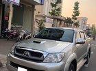 Xe Toyota Hilux 3.0G 4x4 MT đời 2009, màu bạc, xe nhập