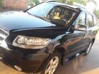 Bán Hyundai Santa Fe 2008, màu đen, nhập khẩu số tự động, 415tr