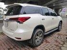 Bán Toyota Fortuner 2.7 V 2017, màu trắng, xe nhập số tự động