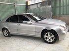 Bán Mercedes C200 đời 2002, màu bạc số sàn