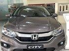 Honda City CVT 2019 màu Titan khuyến mãi lớn, xe có sẵn giao ngay