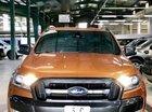 Cần bán Ford Ranger Wildtrak năm 2016, màu đỏ cam