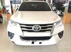 Cần bán Toyota Fortuner MT năm 2017, màu trắng