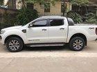 Bán gấp Ford Ranger Wildtrak 3.2 2016, màu trắng, nhập khẩu