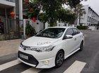 Bán ô tô Toyota Vios G 2015, màu trắng, giá 500tr, 4 vỏ mới, cách âm, sub Đức, bánh mâm, full body kit