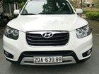 Cần bán xe Hyundai Santa Fe sản xuất năm 2011, màu trắng, nhập khẩu chính chủ
