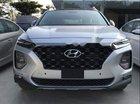 Bán Hyundai Santa Fe đời 2019, màu bạc