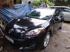 Bán xe Mazda 3 đời 2014, màu đen, máy móc nguyên bản, không đâm đụng, ngập nước