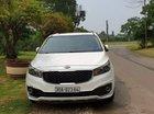 Bán ô tô Kia Sedona CRDI 2.2AT sản xuất 2015, màu trắng, nhập khẩu nguyên chiếc