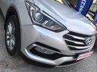 Bán ô tô Hyundai Santa Fe sản xuất năm 2017, màu bạc, xe nhập còn mới